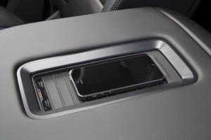 2015 Chevrolet Tahoe Z71, Wireless charging station