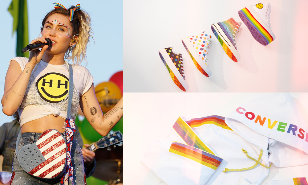 Converse Partners Up With Miley Cyrus