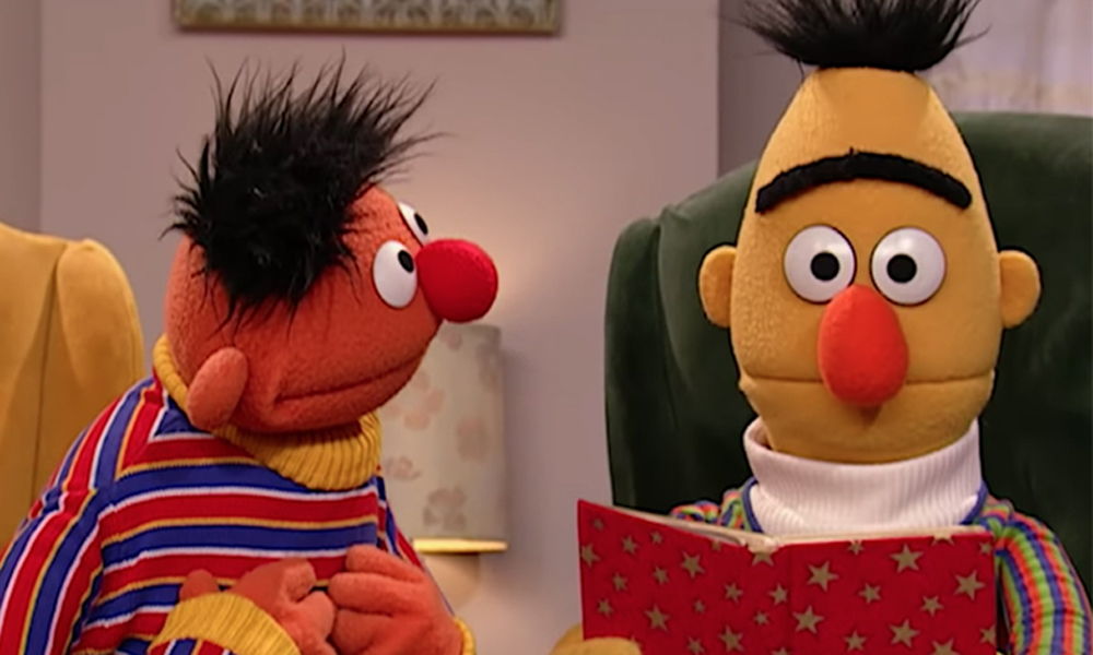 were bert and ernie in a relationship