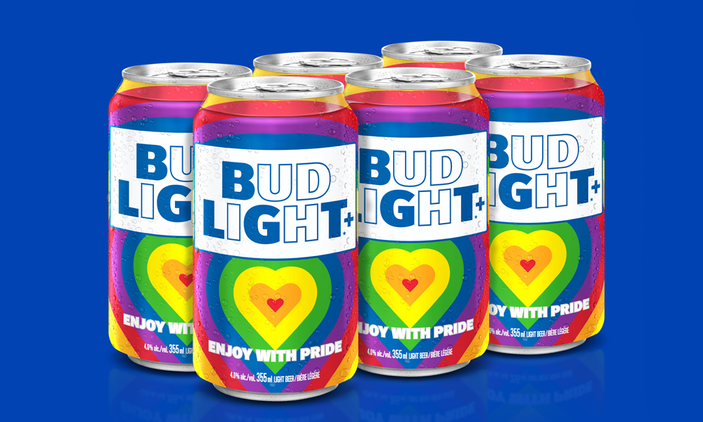 Bud Light Is Celebrating Pride With Limited Edition Rainbow