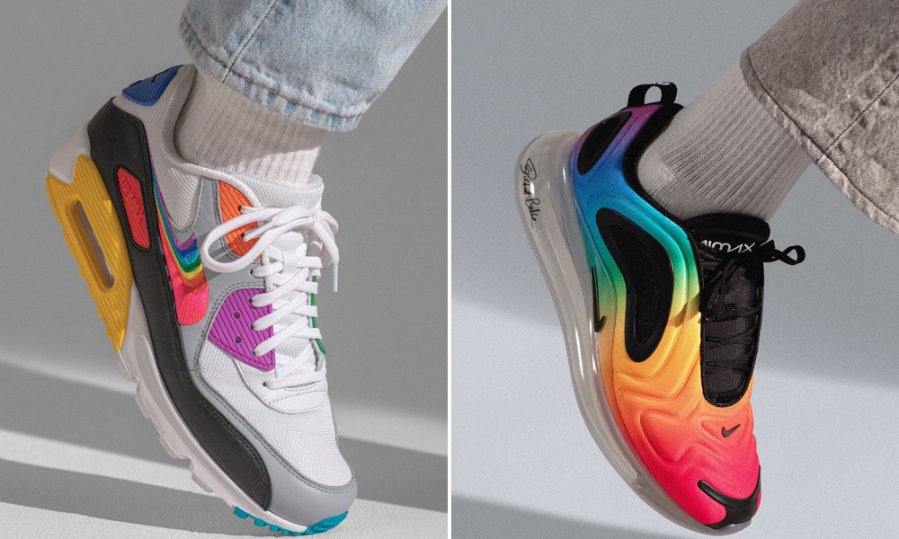 ba4bf96d8e The footwear collection includes five pairs of sneakers: the Air Max 720, Air  Tailwind 79, Zoom Pegasus Turbo, Benassi JDI, and Air Max 90.