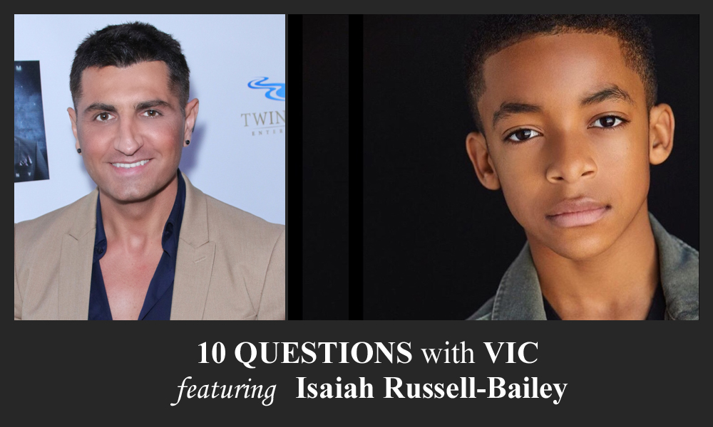 10 Questions With Vic Isaiah Russell Bailey In Magazine